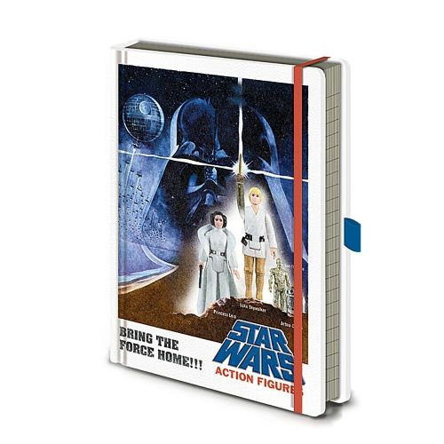 Star Wars Action Figures A5 Premium Notebook Note Pad